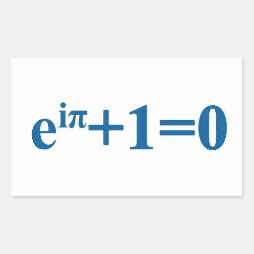 Eular math equation sticker