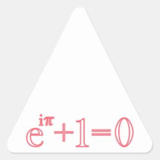 Euler identity Euler's identity Triangle Stickers