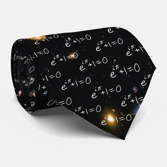 Euler's Identity Hubble Deep Field Galaxies Tie