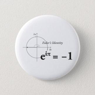 Euler's Identity Math Formula 6 Cm Round Badge