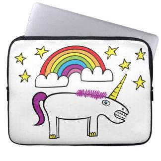 """Eunice the Unicorn - 13"""" Neoprene Laptop Sleeve"""