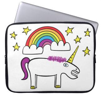 """Eunice the Unicorn - 15"""" Neoprene Laptop Sleeve"""