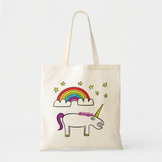 Eunice the Unicorn - Budget Tote