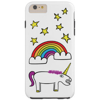 Eunice the Unicorn - iPhone 6/6s Plus, Tough Tough iPhone 6 Plus Case