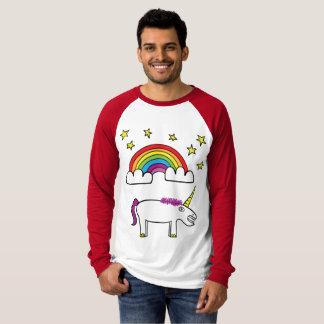 Eunice the Unicorn - Men's Long Sleeved T-Shirt