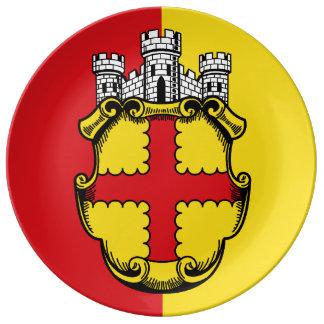 Eupen - German-language community of Belgium Plate