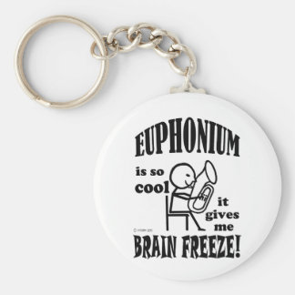 Euphonium, Brain Freeze Basic Round Button Key Ring