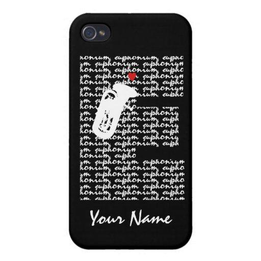 Euphonium Letter E iPhone 4/4S Cases