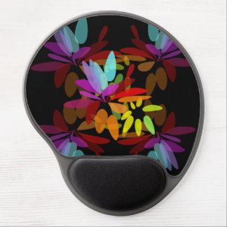 Euphoric Moder Hippie Rainbow Print Gel Mouse Pad