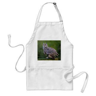 Eurasian Eagle Owl Apron
