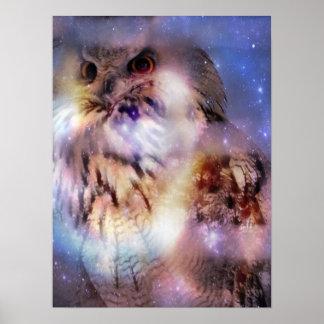 Eurasian Eagle-owl Poster