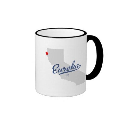 Eureka California CA Shirt Mugs