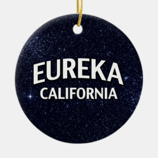 Eureka California Christmas Ornament