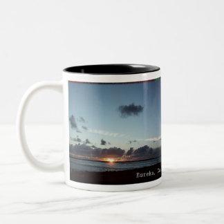 Eureka, California Clouds coffee-cup Two-Tone Coffee Mug