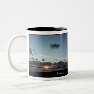 Eureka, California Clouds coffee-cup Two-Tone Mug
