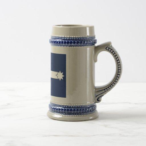 Eureka Flag beer stein Mugs