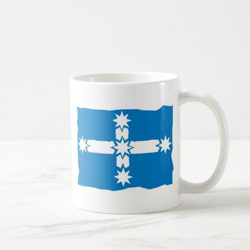 Eureka Flag Coffee Mugs