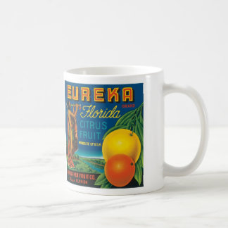 Eureka Florida Citrus Fruit Basic White Mug