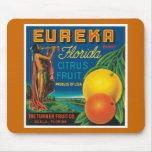 Eureka Florida Citrus Fruit Mousepads