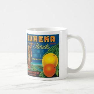 Eureka Florida Citrus Fruit Classic White Coffee Mug