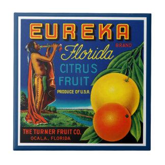 Eureka Florida Citrus Small Square Tile