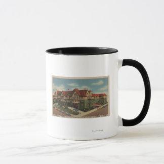 Eureka Inn Hotel View in Eureka, California Mug