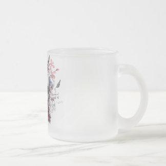 "Eureka ""No bread, No profit "" Frosted Glass Mug"