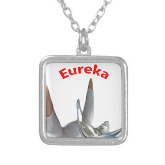 Eureka Silver Plated Necklace