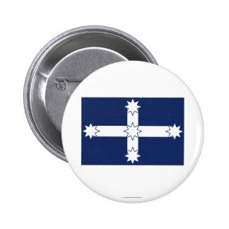Eureka Stockade Flag 6 Cm Round Badge