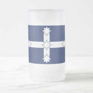 Eureka Stockade Flag Frosted Glass Mug