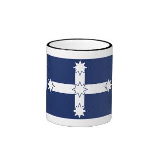 Eureka Stockade Flag Ringer Mug