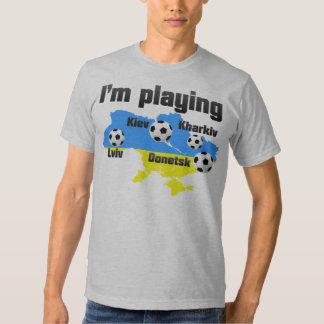 Euro 2012 football championship. t-shirts