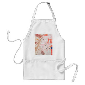 Euro and sports betting slip adult apron