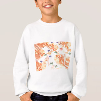 Euro background sweatshirt