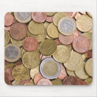 Euro Cents Money Mouse Pad