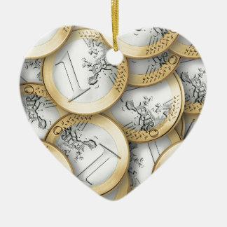 Euro Christmas Ornament