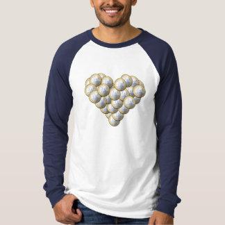 Euro Coins - heart pattern - shirt