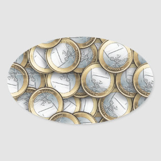 Euro Coins Stickers