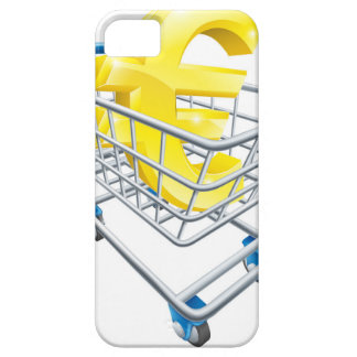Euro currency shopping cart iPhone 5 cases