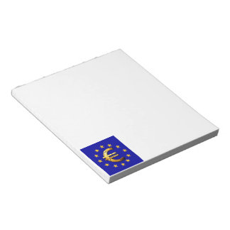 Euro Flag Notepads