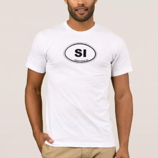 Euro Oval - Staten Island T-Shirt