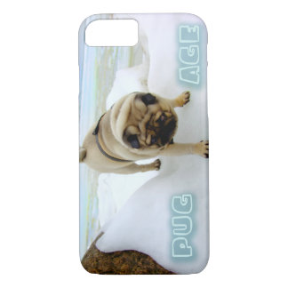 Euro Pug Ice Age iPhone 7 case