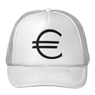 Euro Sign Cap