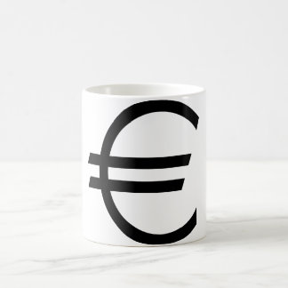 Euro Sign Coffee Mug