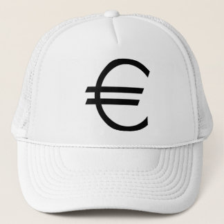 Euro Sign Trucker Hat