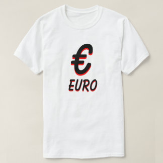 € Euro white T-Shirt