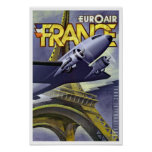 Euroair ~ France Posters