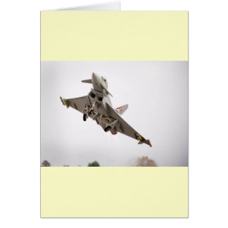 EUROFIGHTER TYPHOON GREETING CARD