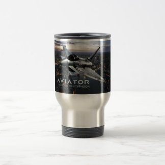 Eurofighter Typhoon Fighter Jet Travel Mug