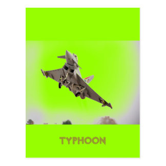 EUROFIGHTER TYPHOON POSTCARD